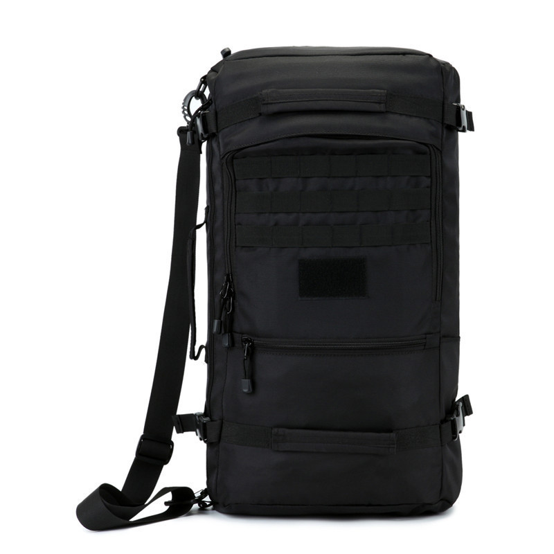 50 litres of nylon multi-purpose military backpacking trip large-capacity high-quality best casual backpack male bag female