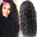 New Arrival Malaysian Virgin Human Hair Full Lace Wig With Baby Hair Natural Loose Wave Glueless Lace Front Wigs 130% Density