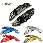 KUNBABY 2PCS Car Styling Aluminum Endless Brake Caliper Cover Car Accessories Fit For BMW Mercedes Benz All Car 14-19 Inch