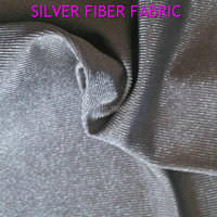 BLOCK EMF Silver Clothing Fabrics In Weft Can Close To The Skin