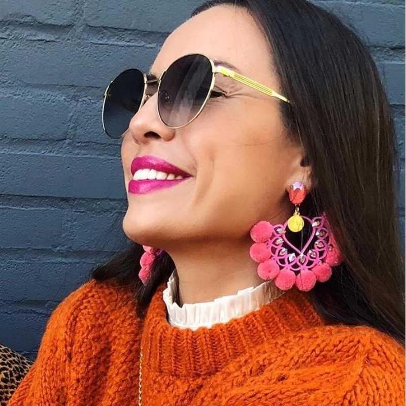 Хит 2019, роскошные длинные серьги с подвеской и кисточками, Boho, блестящие Висячие серьги для женщин, свадебные очаровательные серьги с бахромой