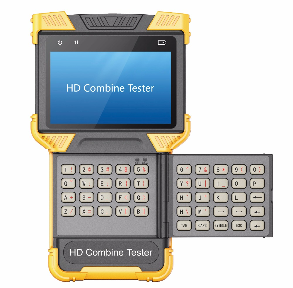 hd combine tester IP Analog Camera Tester without PoE, 100M, Multifunction 2-in-1 Tester, CCTV HD Combine Tester