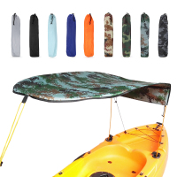 Single Person Kayak Boat Sun Shelter Sailboat Awning Top Cover Kayak Boat Canoe Sun Shade Canopy Fishing Tent Sun Rain Canopy
