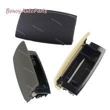 8E0857961M Black Rear Ashtray Tobacco Jar Cover Cap For Audi A4 B6 B7 2001 2004 2005 2007 2008 For Seat Exeo