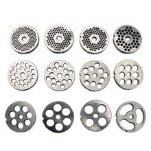 22 Тип сменная мясная шлифовальная плита отверстие 3-24 мм марганцевая сталь измельчитель диск для миксера пищевой измельчитель