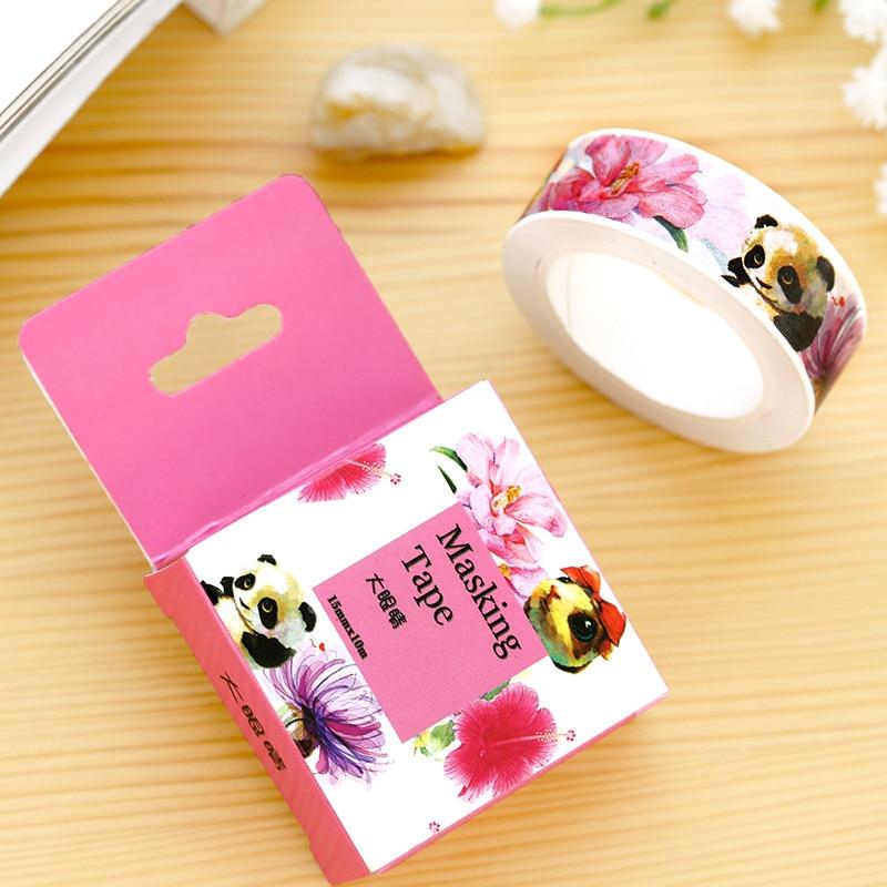 2016 New Printing Japanese Washi Tape Office Adhesive Scrapbooking Tools Kawaii Decorative Great Christmas Cute Craft Diy Gift