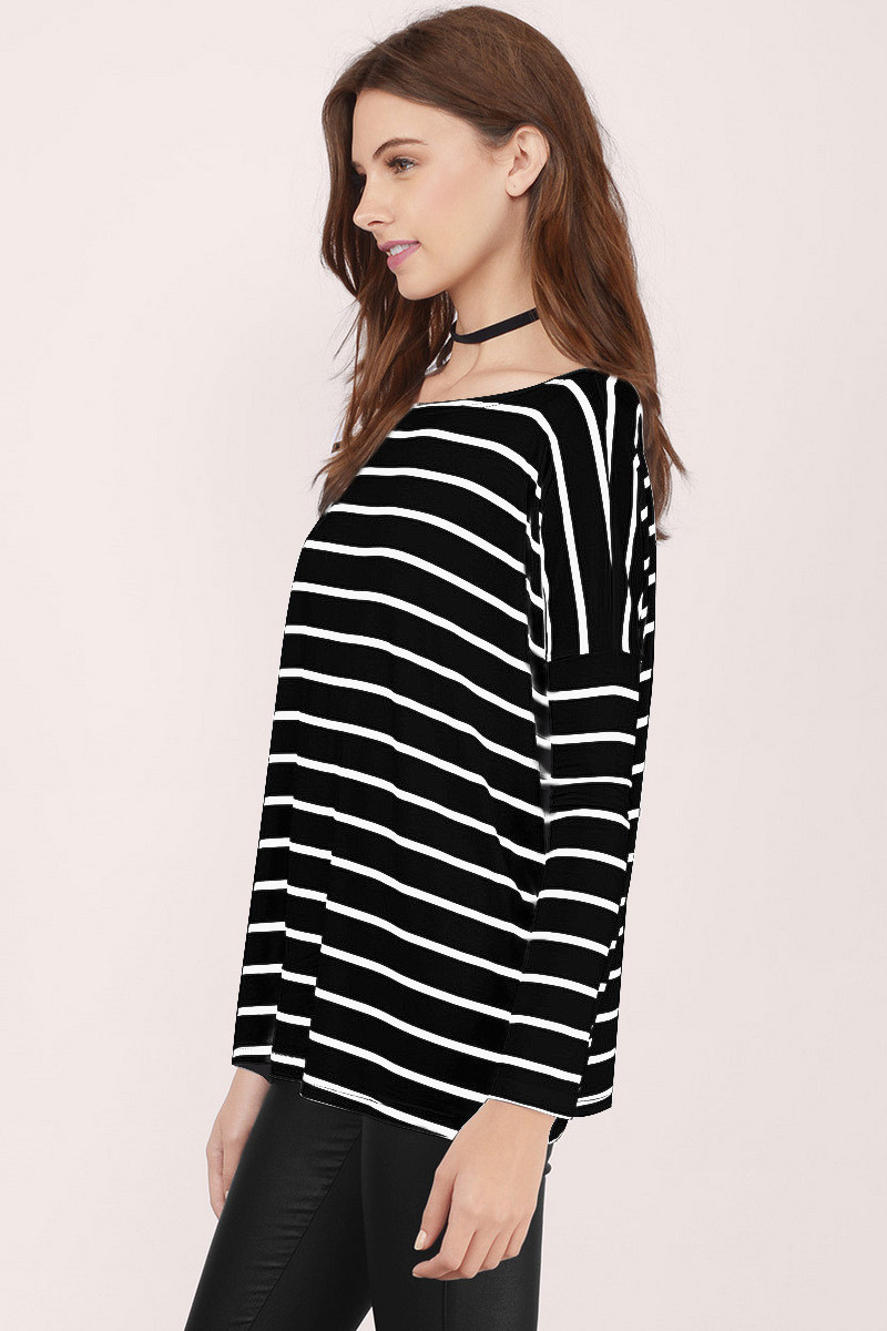 YYFS Women 2019 Spring Top Casual O Neck Long Sleeve Womens Fashion Harajuku Striped Cotton Female T Shirts Top Blusas Plus Size in T Shirts from Women 39 s Clothing