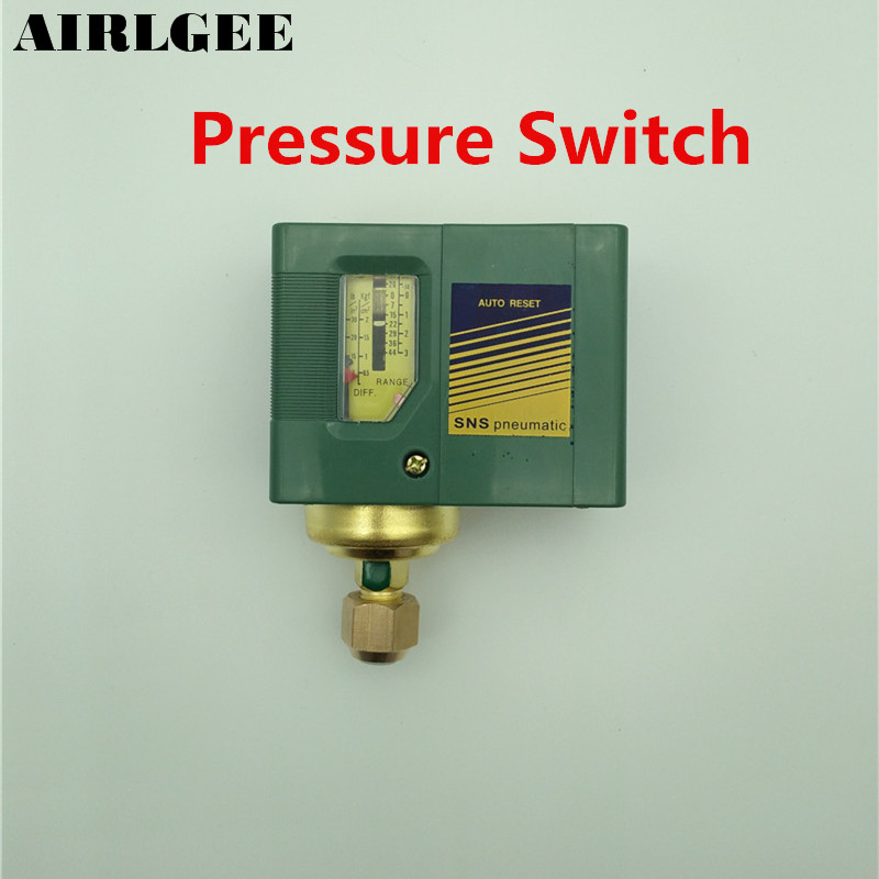 15-140PSI 1-Port Pressure Switch Controller Valve for Air Water Compressor Pump 13mm male thread pressure relief valve for air compressor