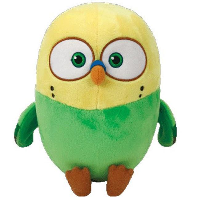 "Pyooppeo Ty Beanie Babies 6"" 15cm Sweetpea Parakeet Bird"