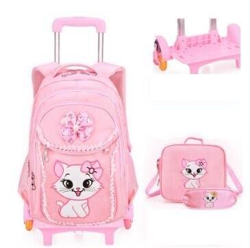 Plecak szkolny na kółkach plecak dla dziewczynek plecak na kółkach torba na kółkach dla dzieci plecak szkolny dla dzieci na kółkach torby na kółkach