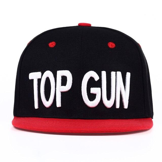 92b9f936 VORON NEW TOP GUN HAT VINTAGE TRENDY SNAPBACK HAT FOR MEN ADAM DEVINE CAP  BLACK/RED Workaholics Casual gun hats hip hop