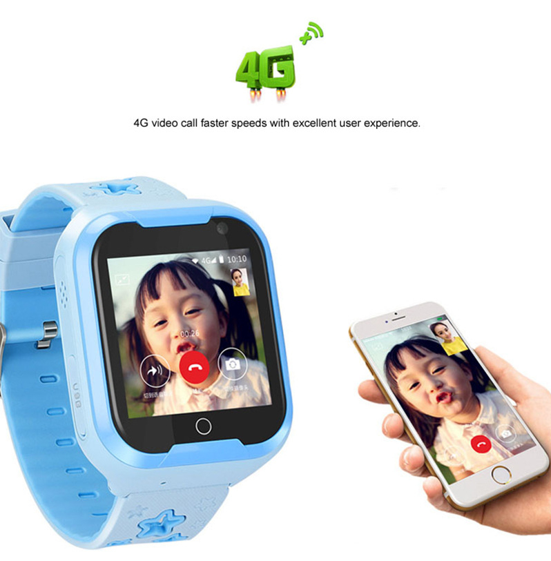 Kids GPS Tracker 4G Smart watch M05 LBS WIFI location SOS call Android 4.2 Pedometer Camera Children Smart watches M05 1PCS 10