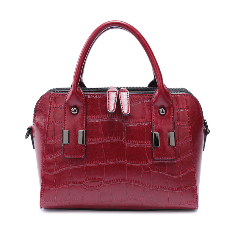 Free Shipping Europe New Fashion Genuine Cow Leather All matched Women High Great Aligator shoulder bags and Handbags DDY014