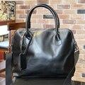 KIBDREAM Hot Sale Men Causel Leather bag business men bag Messenger shoulder bag leisure handbag computer bag Brown and black