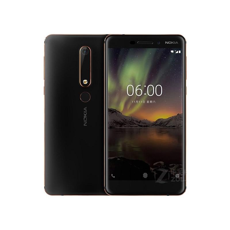 Nokia 6 2nd 5,5 Snapdragon 630 Octa Core 4G LTE Handy 4GB RAM 32 GB/ 64GB ROM 16MP 8MP Dual Kamera Android Handy - 3