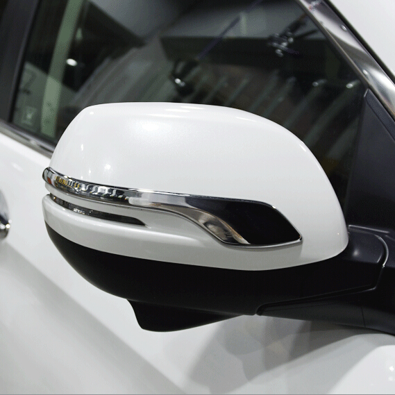 Prix pour 2 pcs/ensemble ABS Chrome Side mirror cover version Pour Honda CRV CR-V 2012 2013 2014