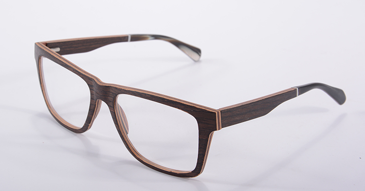 high quality 11 layer walnut maple wood optical frame flexiable eyeglasses frame wooden frame eyewear computer