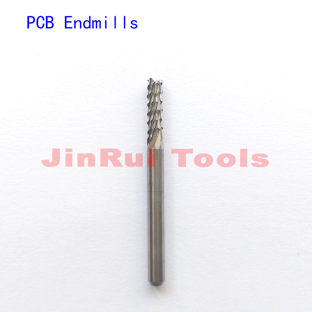 1mm/1.5mm/2mm/2.5mm/3mm/4mm/6mm /8mm PCB maïs EndMills Spirale Peu Imprimé Circuit Conseil CNC routeur peu fraise