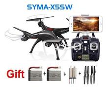 NEWEST SYMA X5SW WIFI RC Drone FPV Quadcopter with HD Camera Headless 6-Axis Real Time RC Quad copter