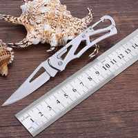 Couteau multifonctionnel EDC de transformateur de survie de Camping en plein air tactique avec le couteau de poche se pliant d'auto-défense de couteau de paquet