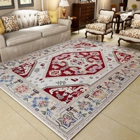 American retro style bedside carpet 200*250cm living room coffee table carpet, rectangle ground mat , decoration floor mat