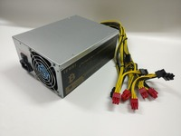 YUNHUI BTC LTC DASH Miner Power Supply 12V 146A MAX OUTPUT 1950W Suitable For ANTMINRT S9