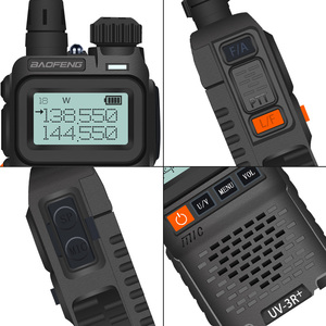 Image 2 - Baofeng UV 3R + Mini Radio Kid Walkie Talkie UV 3R Dual Band VHF UHF Portable Two Way Radio Ham Hf Transceiver UV 3R Woki Toki