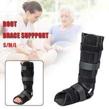 SGODDE 1 Pcs Ankle Foot Brace Wandelen Walker Boot Achille Verpleging Pees Schoen Onderste Ledematen Orthese Spalk Orthopedische Schoen(China)