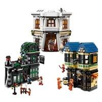 Волшебное слово Косой Переулок 10217 модель здания комплект блок 2025 шт. Кирпичи игрушки для подарок Совместимость с Legoings