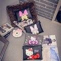 Women Clutch Bag Hello Kitty Messenger Bags Mickey Handbag Stitch Women Leather Handbags Bolsa Feminina Bolsas Feminina