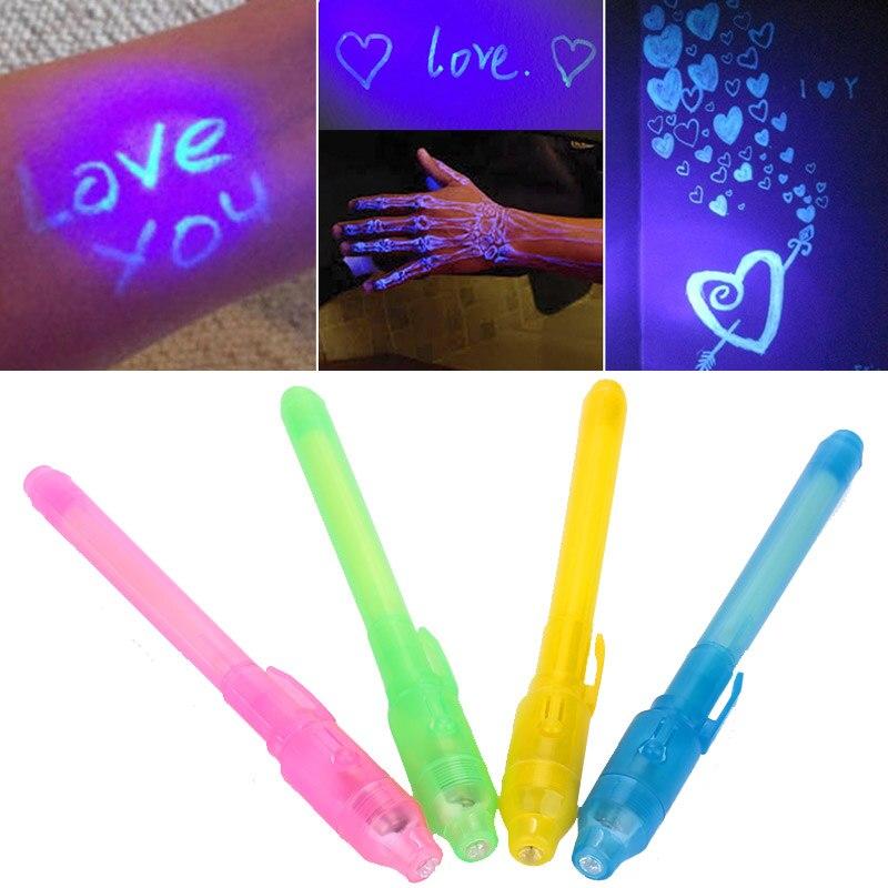 Прозрачная ручка с чернилами, волшебная ручка, многоцветная детская игра, волшебная игрушка, волшебные люминесцентные игрушки, сценический подарок, Волшебный реквизит для фокусов, специальная ручка для взрослых