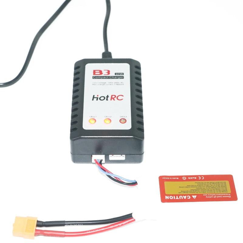1 шт. горячая rc B3 lipo Батарея Зарядное устройство B3 7.4 В 11.1 В литий-полимерный липо Батарея Зарядное устройство 2 S 3 S ячейки для RC Lipo