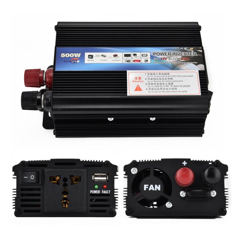 Car inverter 12V to 220V car power supply solar inverter in Inverters Converters from Home Improvement