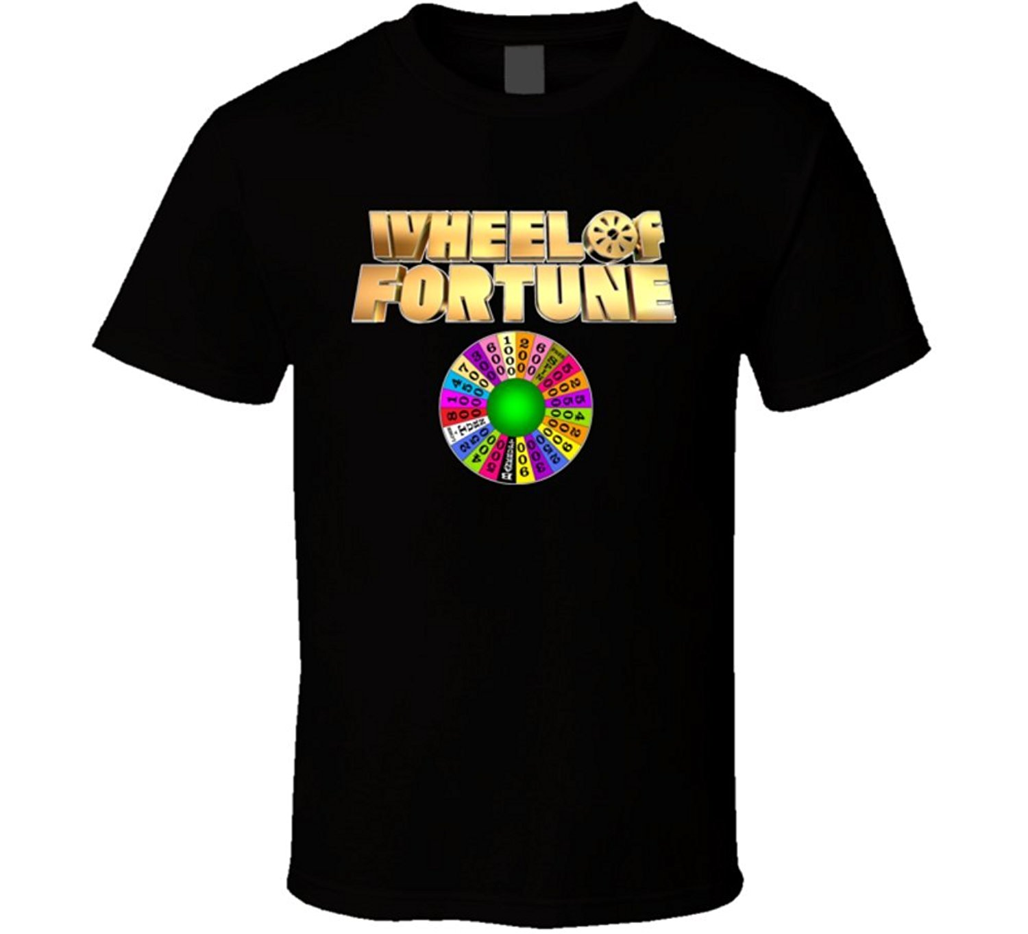 T-Shirt Bandit Wheel of Fortune TV Game Show Classic T Shirt
