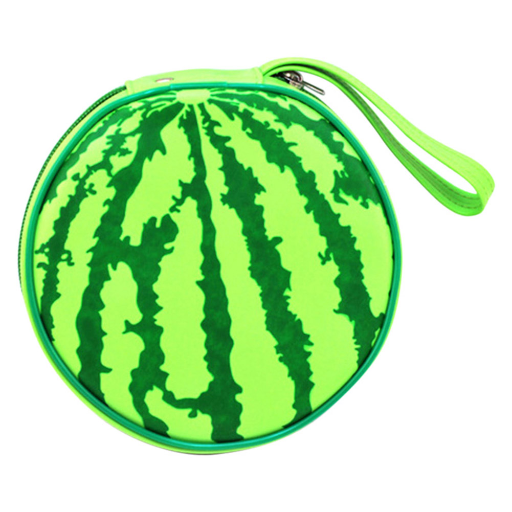 24 Pcs Funny Disk Portable CD DVD Wallet Storage Holder Hold Watermelon Organizer Disk Carry Case Bag Hogard MY1218