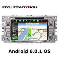 SMARTECH 2 Din Android 6 0 1 Car GPS Navigation For Ford Mondeo Focus Transit C