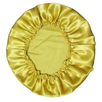 Атласное шелковое ночное белье из полиэстера, 11 цветов - Цвет: Gold