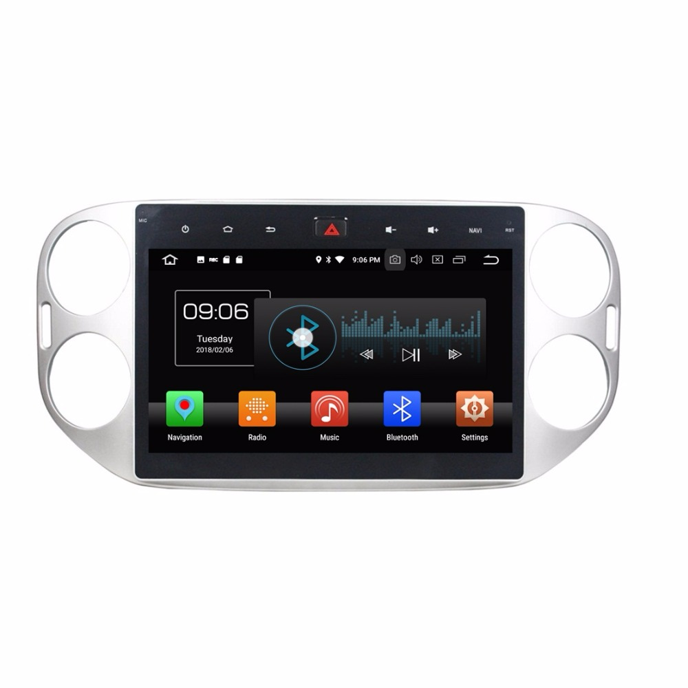 octa core 10 1 android 8 0 car radio dvd gps for vw. Black Bedroom Furniture Sets. Home Design Ideas