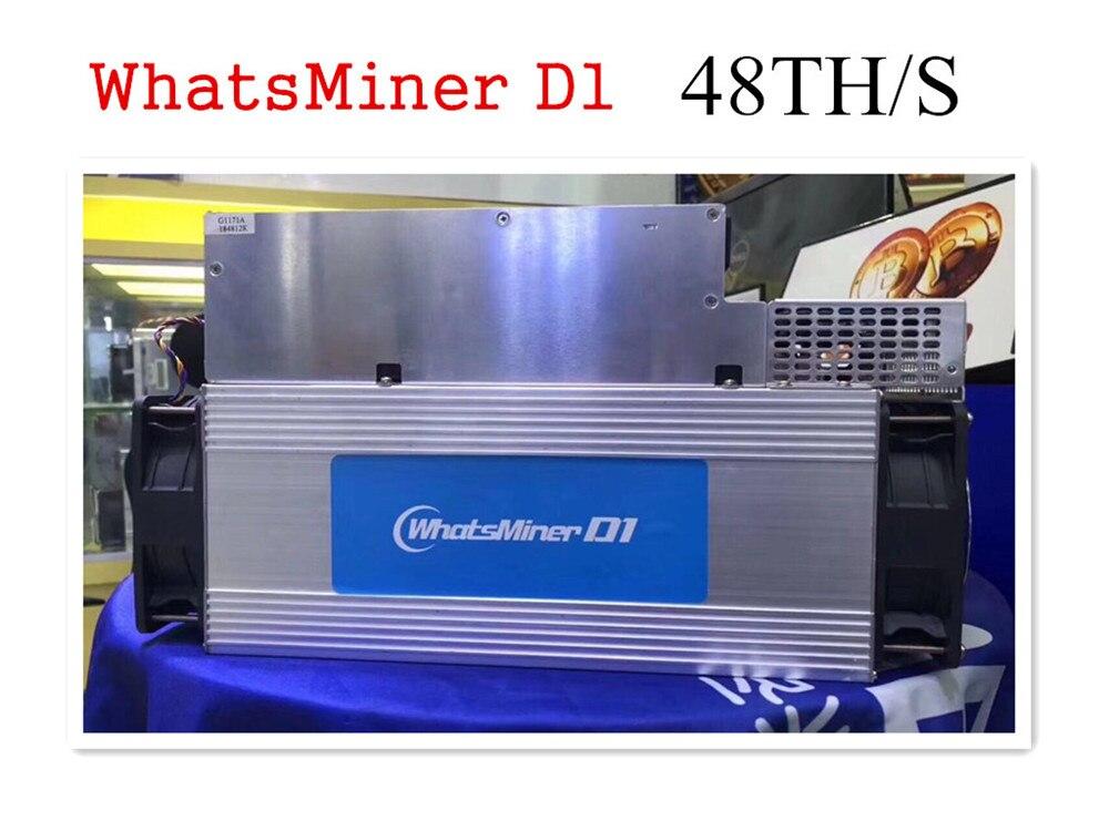 Le plus récent mineur Asic DCR yksminer D1 48TH/S avec PSU mieux que Antminer DR3 Z9 Mini S9 S9j Innosilicon A9 FFMINER