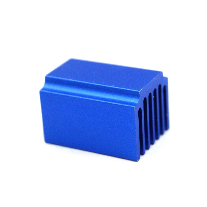 3D Printer Parts 4pcs Stepper Motor Driver Heat sinks Cooling Block Heatsink for TMC2100 LV8729 DRV8825 Drive Modules heacent hs01 diy 3d printer parts a4988 a4982 stepper motor driver heat sinks black 10 pcs