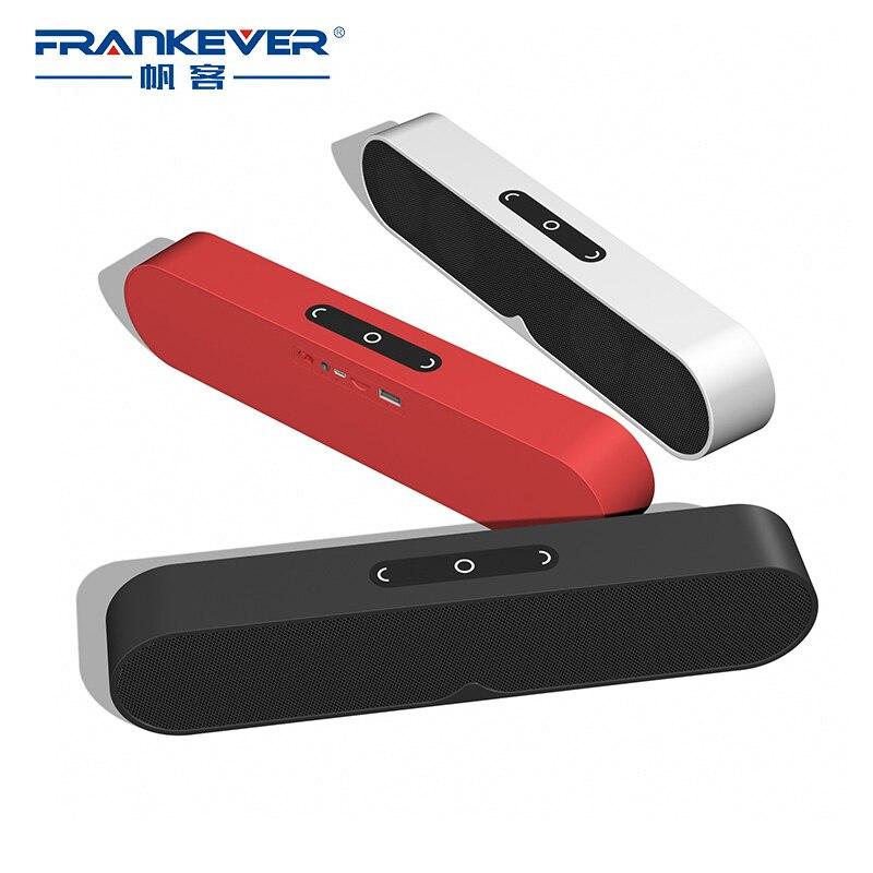 FrankEver 20 W Bluetooth haut-parleur Portable sans fil haut-parleur avec 4 haut-parleurs 3D stéréo musique Surround Support Bluetooth TF AUX USB
