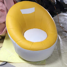 Lazy couch single sofa bedroom round lounge chair cute girl children balcony personality mini creative swivel chair(China)