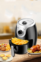 220V Multifunctional Electric Air Fryer Oil Free French Fries Machine Intelligent Smokeless Fryer EU/AU/UK/US Plug
