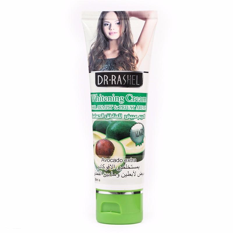 Body Whitening Cream Lotion Moisturizing Bleaching Legs Armpit Private Parts 80 ml DR.RASHEL 3