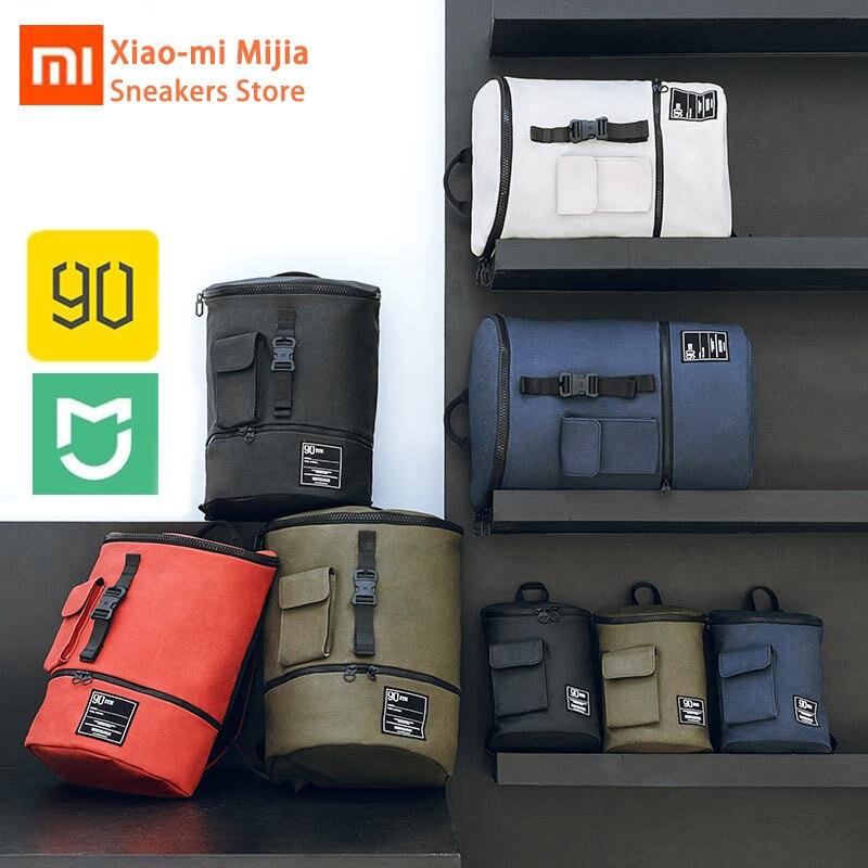 Xiaomi Mijia mode décontracté chic sac à dos étanche 90FUN hommes et femmes sac shopping notebook grande capacité sac à dos