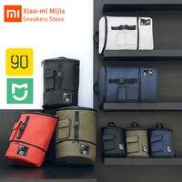 Xiaomi Mijia moda rahat şık sırt çantası su geçirmez 90FUN erkek ve kadın çantası alışveriş dizüstü büyük kapasiteli sırt çantası