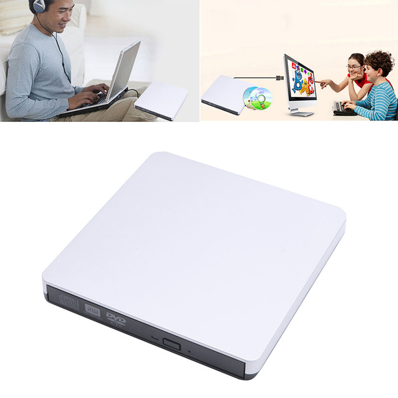 Writer External Hard Drive For PC Laptop Mac Ultra Slim 3.0 USB CD/DVD-RW Burner