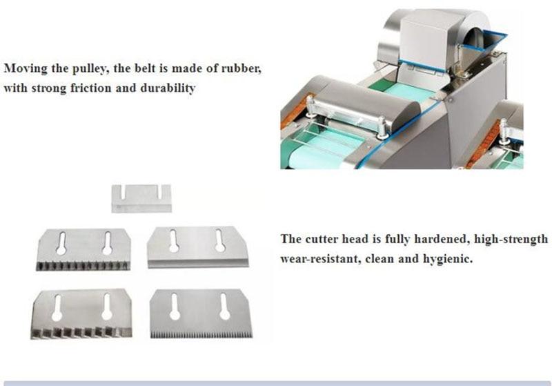 HTB1uybjmQ7mBKNjSZFyq6zydFXaX - 600kg/h business use Best seller fruit and vegetable cutting machine multi-function potato cutter slicer