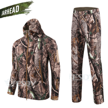 TAD 4.0 Shark Skin Softshell Camouflage Hunting Clothes Suits Outdoor Tactical Military Fleece Jacket&Pant Waterproof Windproof soft shell tad military tactical jacket waterproof windproof outdoors sports army camouflage fleece hunting jacket