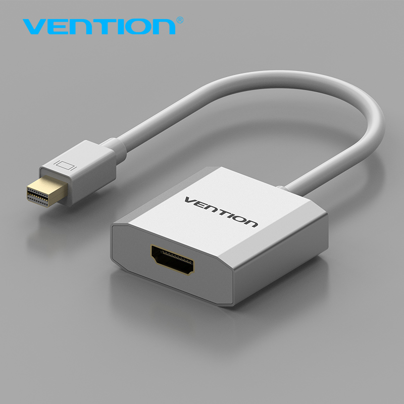 Vention Thunderbolt Mini DisplayPort To HDMI Adapter Displayport To HDMI Cable for Apple MacBook Air Pro iMac Mac Surface Pro hot whole sale mini displayport dp to hdmi adapter cable male to female thunderbolt converter for macbook air pro mac mini imac